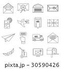 アイコン セット 組み合わせのイラスト 30590426
