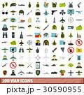 100 100 戦争のイラスト 30590955