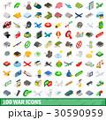 100 100 戦争のイラスト 30590959