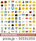 100 100 財のイラスト 30591050