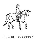 馬 馬術 ベクトルのイラスト 30594457