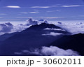 富士山 鳳凰三山 月明かりの写真 30602011