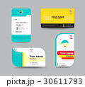 Business card template, business card design 30611793
