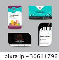 Business card template, business card design 30611796