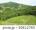 初夏の北海道、新緑に包まれた夏のスキー場 30612765