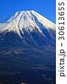富士山 冬 冠雪の写真 30613655