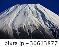 朝霧高原から望む冬の富士山山頂 30613877