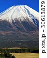 朝霧高原から望む冬の富士山山頂 30613879