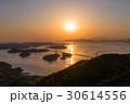 来島海峡大橋 夕景 しまなみ海道の写真 30614556