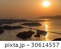 来島海峡大橋 夕景 しまなみ海道の写真 30614557