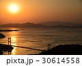来島海峡大橋 夕景 しまなみ海道の写真 30614558