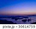 【瀬戸内しまなみ海道】来島海峡大橋、日が落ちて 30614759