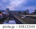金沢城 城 夕景の写真 30615340