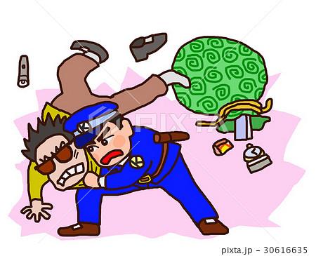 逮捕 ガードマン