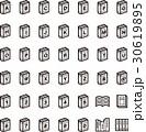 モノトーン アイコン(シリーズ) 30619895