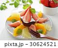 生チョコレートケーキのフルーツ添え 30624521