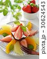 生チョコレートケーキとフルーツパナッシェ 30624543