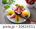 生チョコレートケーキとフルーツパナッシェ 30624551