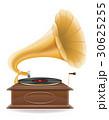 蓄音機 レトロ ベクターのイラスト 30625255