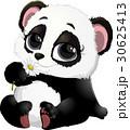 ぱんだ パンダ ベクターのイラスト 30625413