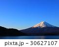 富士山 夜明け 世界文化遺産の写真 30627107