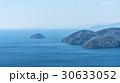 賤ケ岳山頂部より見下ろす北琵琶湖と竹生島方面 30633052