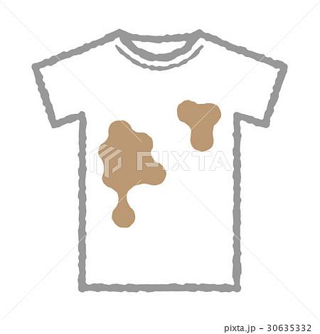 汚れたシャツ 30635332