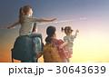 旅行 夕日 夕焼の写真 30643639