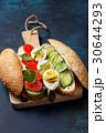 卵 サンドイッチ サンドウィッチの写真 30644293
