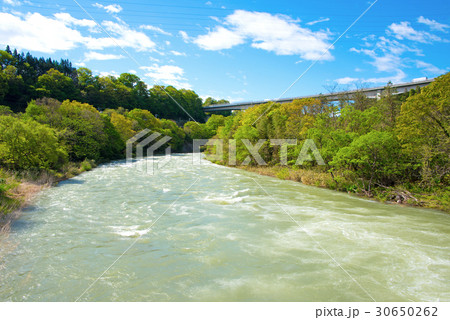 東京電力 岩本発電所 取り入れ口下流 30650262