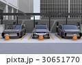 電気自動車 充電スタンド チャージポイントのイラスト 30651770
