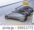 電気自動車 充電スタンド チャージポイントのイラスト 30651773