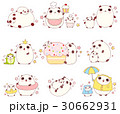 Set of cute pandas in kawaii style 30662931