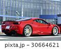 赤い高級スポーツカー 30664621