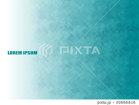 Abstract blue ocean vector modern colorful flyersのイラスト素材 [30666816] - PIXTA