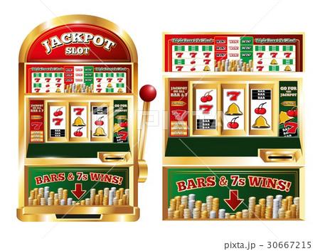Gambling Slot Machine Composition 30667215
