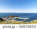 風景 津軽海峡 海の写真 30670053