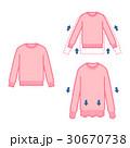 普通&縮んだ&伸びたセーター 30670738