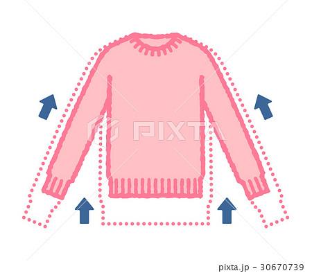縮んだセーター 30670739
