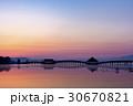 青森県 鶴の舞橋 30670821