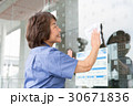 清掃 仕事 シニア女性 30671836