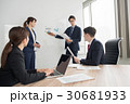 ミーティング グローバル ノートパソコンの写真 30681933