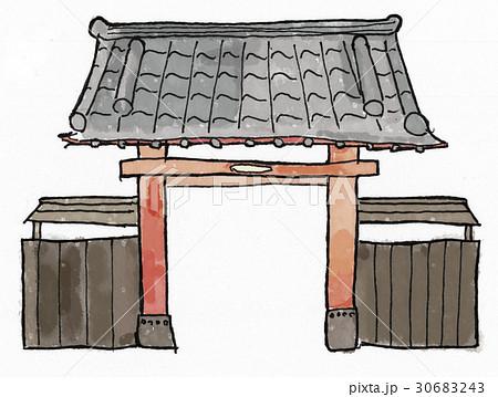 門のイラスト素材 [30683243] - PIXTA