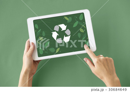 Recycle Nature World Icon Grapphic 30684649