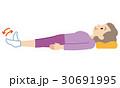 シニア 体操 介護予防のイラスト 30691995