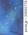 天の川 夜空 星のイラスト 30692778
