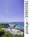 角島大橋 角島 海の写真 30693082