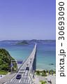 角島大橋 角島 海の写真 30693090