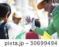 シニアボランティア 通学路での安全補助 30699494