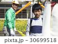 シニア 小学生 笑顔の写真 30699518